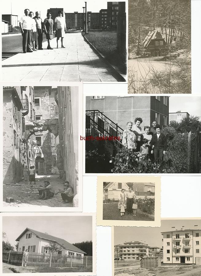 Foto-Konvolut Häuser / Architektur / Wohnungsbau (ca. 1930-1970)