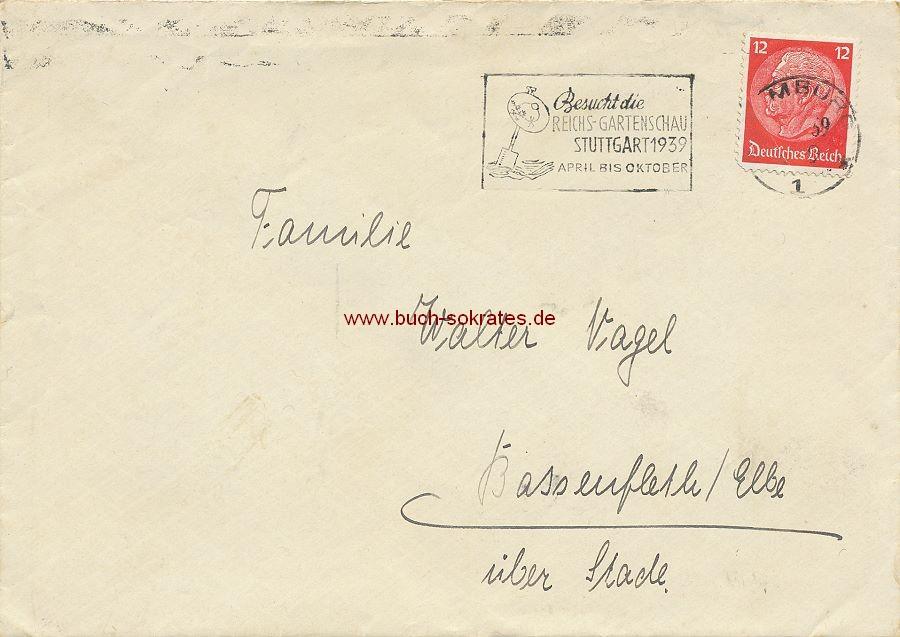 Dokument Briefumschlag mit SST