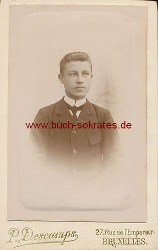 Mann aus Brüssel / Bruxelles (Belgien) (ca. 1900)