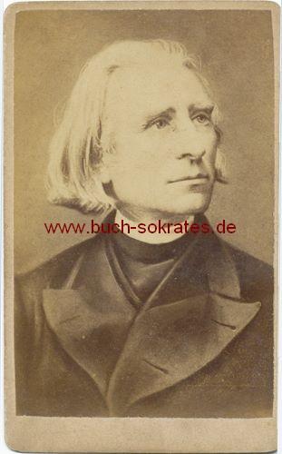 Komponist Franz Liszt (ca. 1870)