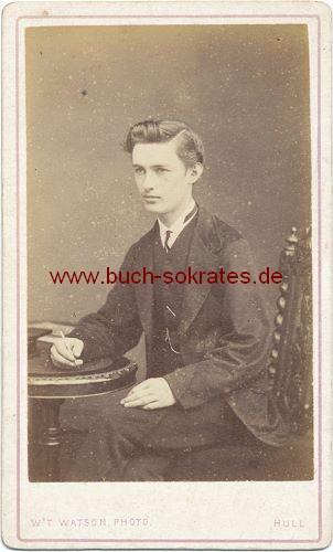 Junger Mann aus Hull / England (ca. 1860)