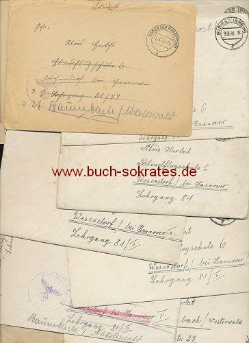 Konvolut Briefe Zweiter Weltkrieg Rheinland Bingen
