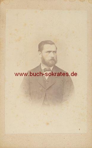 Mann aus Basel - Ofenfabrikant (ca. 1870)