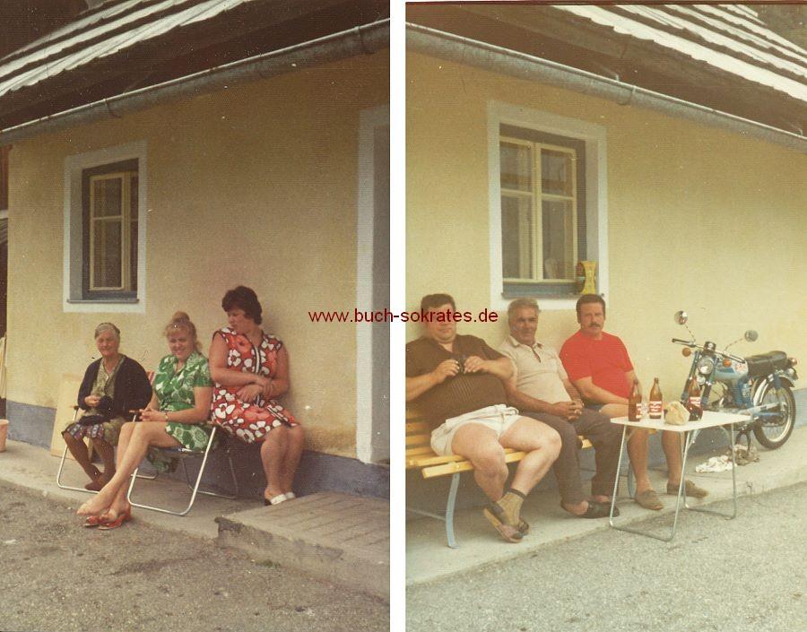 Foto 3 Frauen und ihre Männer (ca. 1970)
