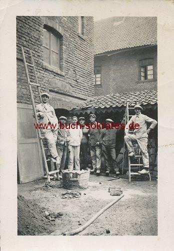 Gruppe Bauarbeiter aus Herzogenrath (1933)
