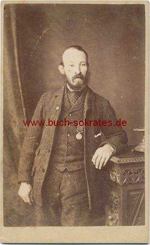 Älterer Mann aus Lincoln / England (ca. 1880)