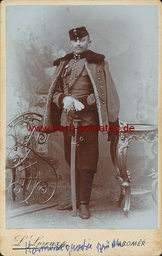Soldat mittleren Alters aus Jaromer / Tschechien (ca. 1910)