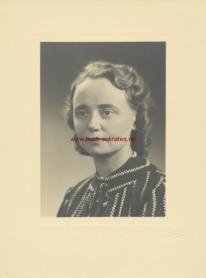 Foto Frau aus Trondheim (ca. 1935)