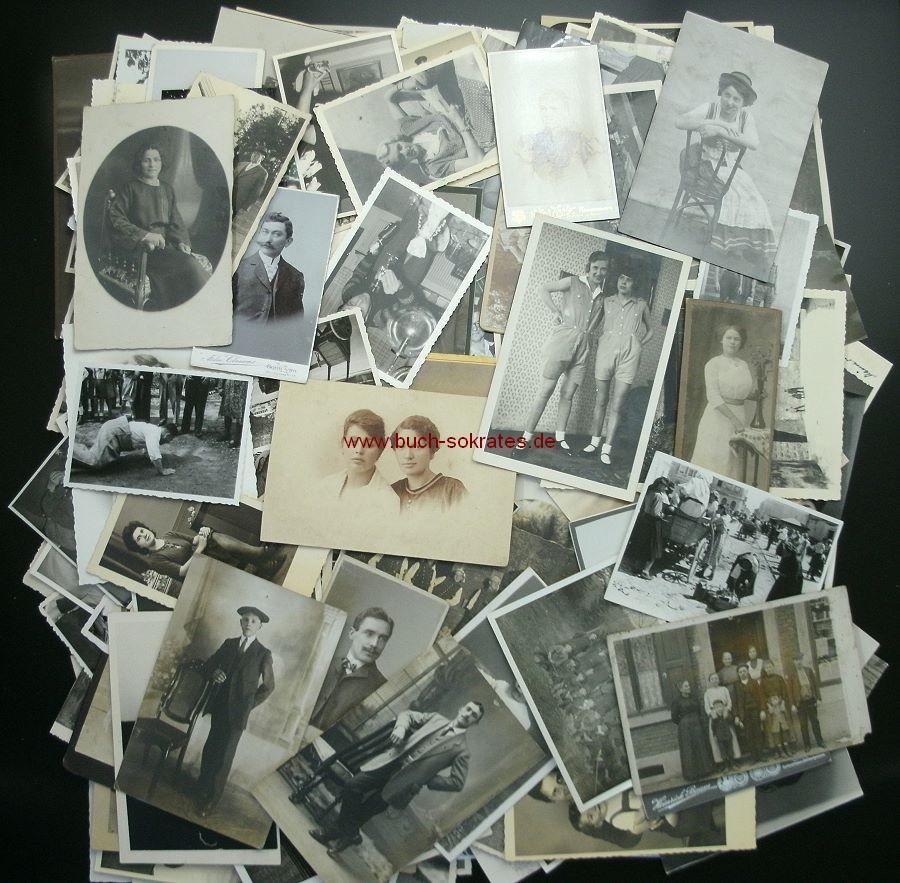 Kiste Großes Foto-Konvolut (ca. 1920-70)