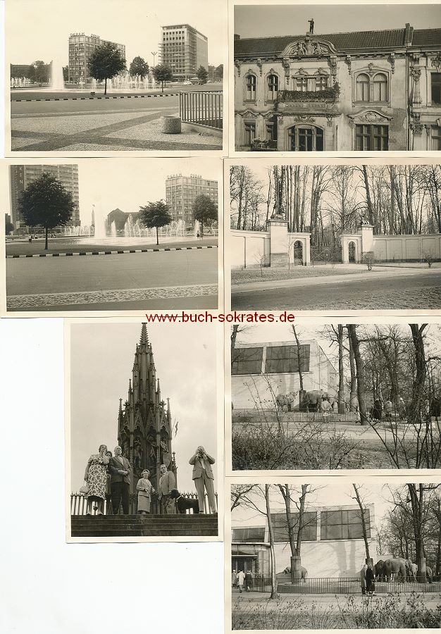 Foto Topographische Ansichten Berlin: Viktoriapark, Ernst-Reuter-Platz (1961)