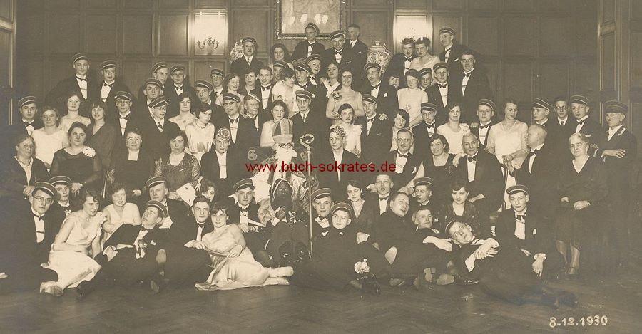 Foto Gruppe Studentenverbindung Kaiserpfalz Aachen (1930)