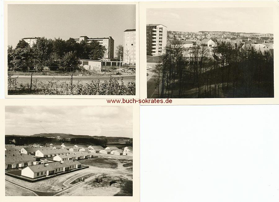 Foto Typische 60er-Jahre-Neubausiedlung (1962)