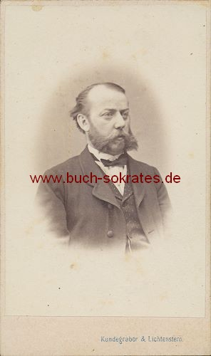 Älterer Mann aus Wien mit Vollbart (ca. 1870)