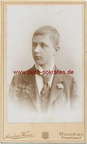 Junger Mann aus München (1897)