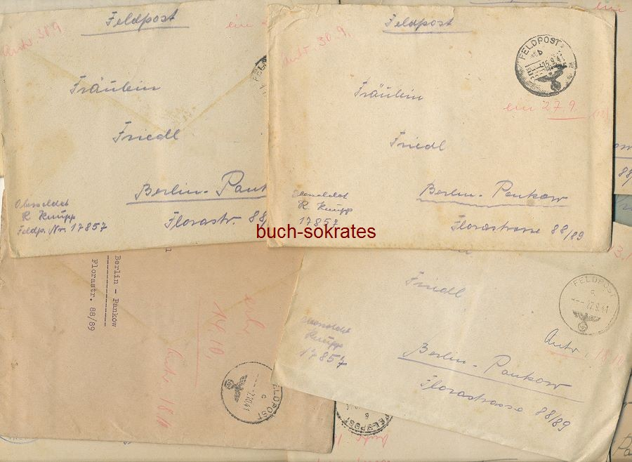 Kriegsbriefe Feldpost Smolensk / Berlin - Unternehmen Barbarossa (1940-42)