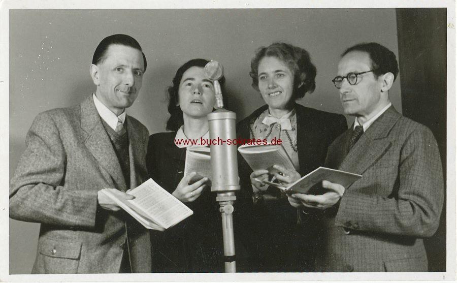 Foto Soloquartett der Solisten-Vereinigung des Berliner Rundfunks (1946)