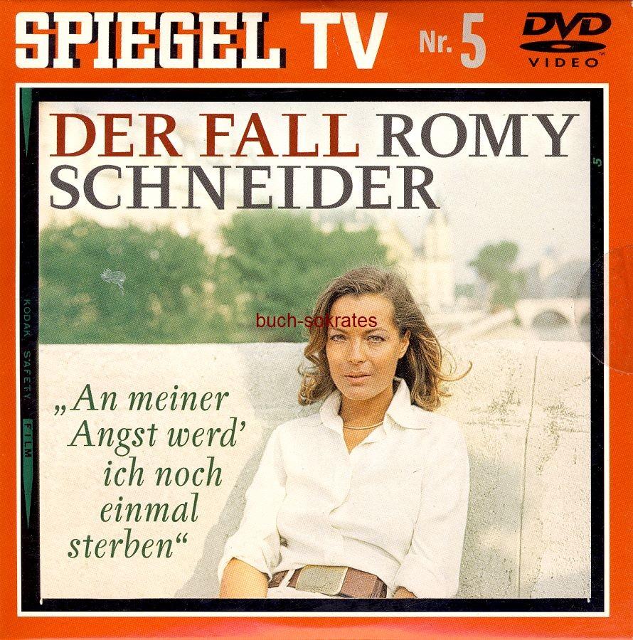 DVD-Doku Tamara Duve / Michael Jürgs: An meiner Angst wird ich noch einmal sterben - Der Fall Romy Schneider (Spiegel TV, Nr. 5) - (Spiegel TV, 2007, Laufzeit 61 min. + Bonusmaterial 42 min)