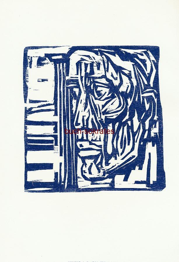 Original-Holzschnitt Max Kaus: Apollon (GN2-71/80)