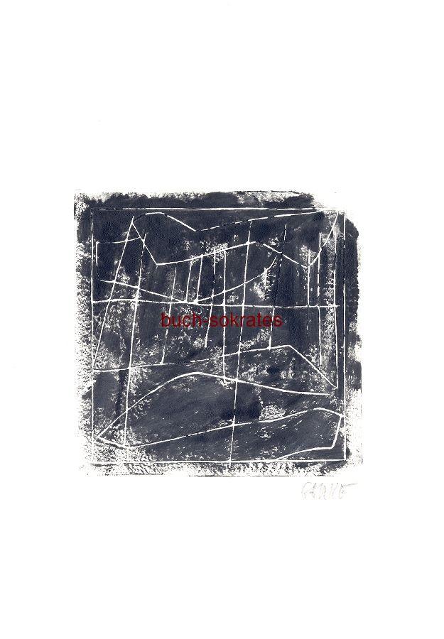 Original-Linolschnitt: Gewitter, nach e. Gedicht von Heinrich Heine (2016)