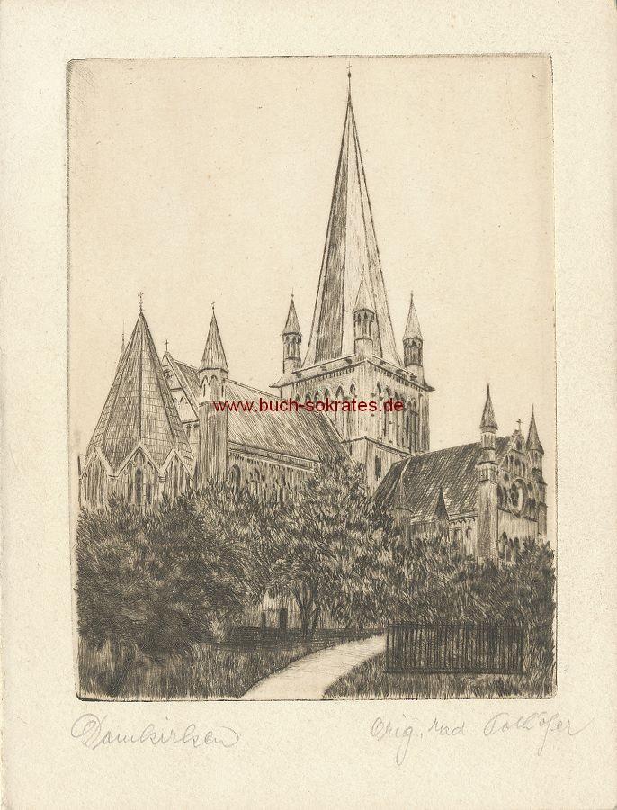 Pochöfer: Damkirken / Ansicht einer Kirche