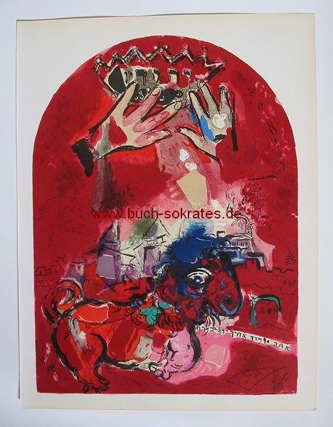 Marc Chagall: Stamm Juda / Blatt IV = Mourlot CS15 (1962)