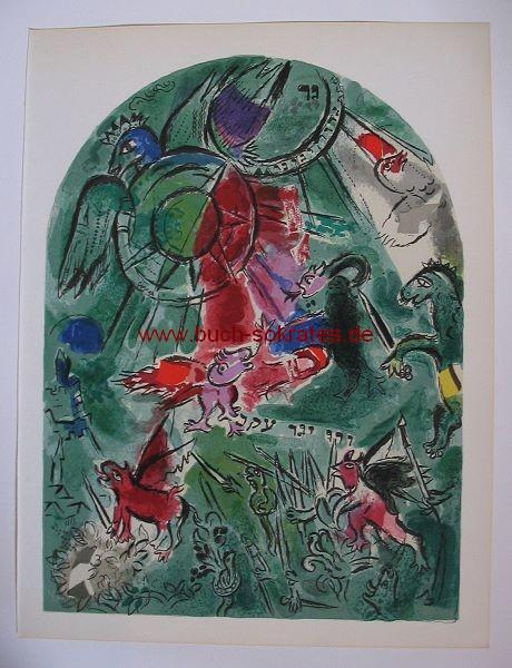 Marc Chagall: Stamm Gad / Blatt VIII = Mourlot CS19 (1962)