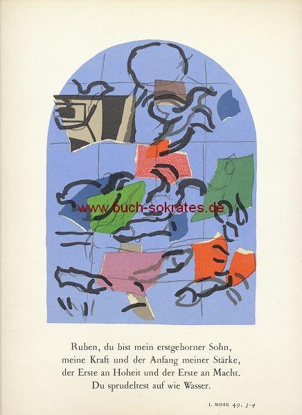 Marc Chagall: Stamm Ruben (1962)