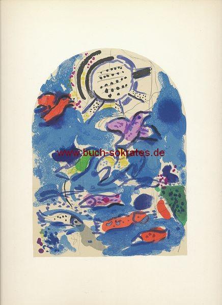Marc Chagall: Stamm Ruben / Blatt I = Mourlot CS12 (1962)