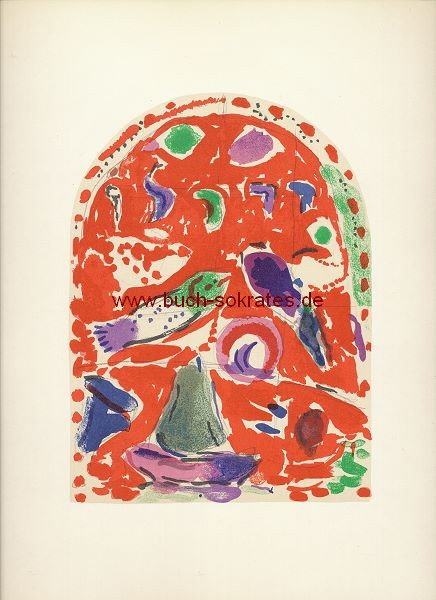 Marc Chagall: Stamm Sebulon / Blatt V = Mourlot CS16 (1962)