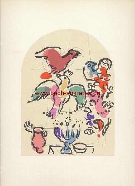 Marc Chagall: Stamm Asser / Blatt IX = Mourlot CS20 (1962)