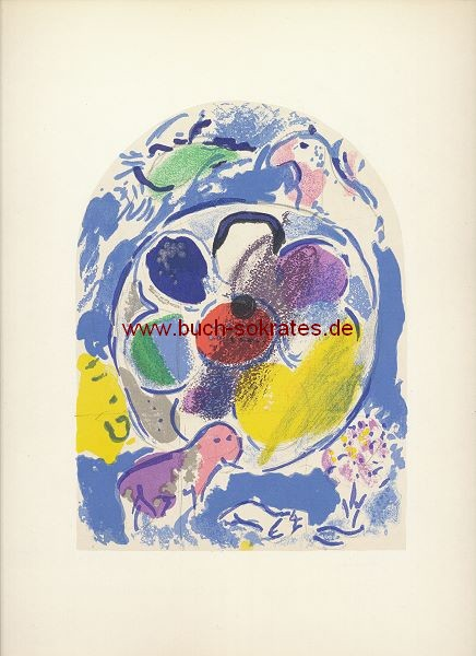 Marc Chagall: Stamm Benjamin / Blatt XII = Mourlot CS23 (1962)