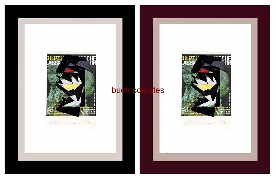 Original-Linolschnitt - Marco Gerke: Seerosen / Giverny (2018)