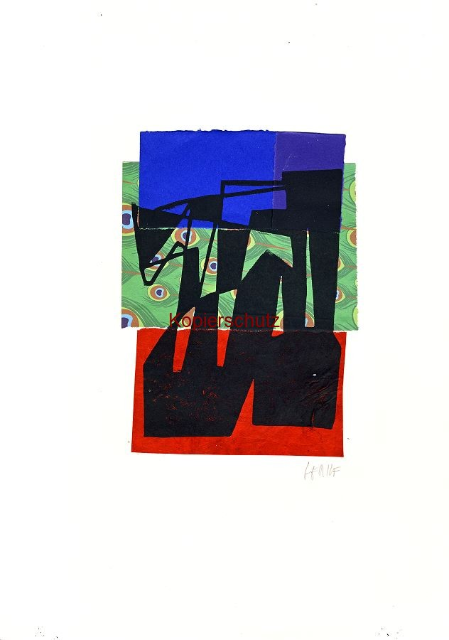 Original-Linolschnitt - Marco Gerke: Fuchs (2019)