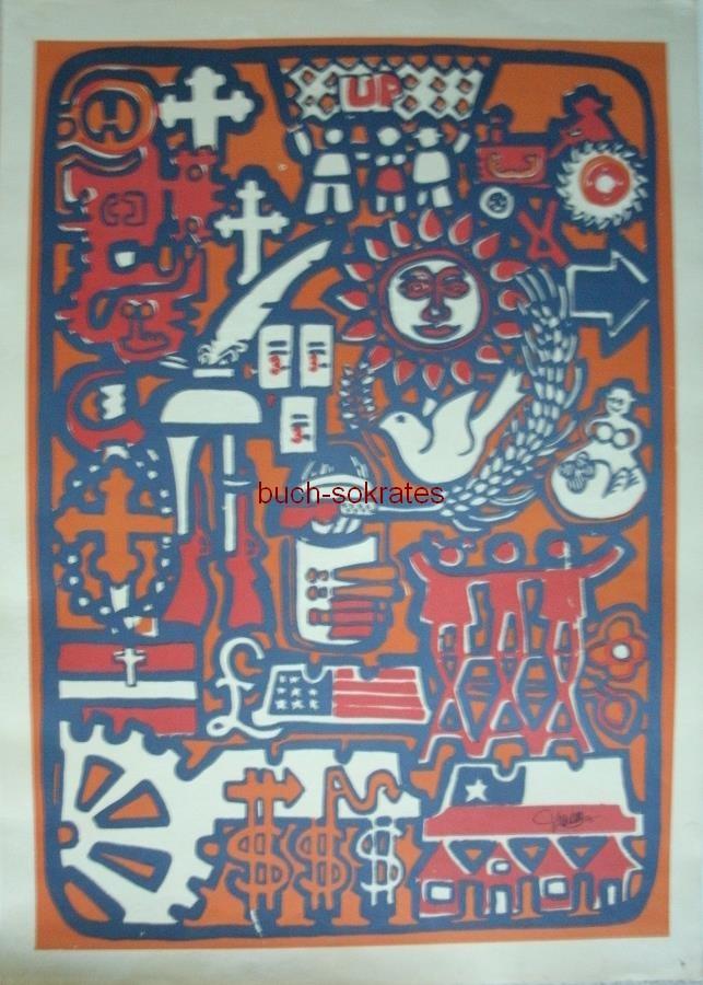 Das Volk hat Kunst mit Allende - Jorge Barba: Historia de Chile (1970)