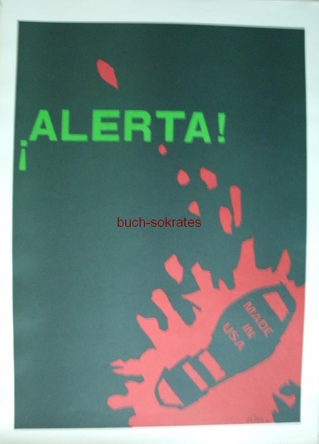 Das Volk hat Kunst mit Allende - Alberto Pérez: ¡Alerta! (1970)