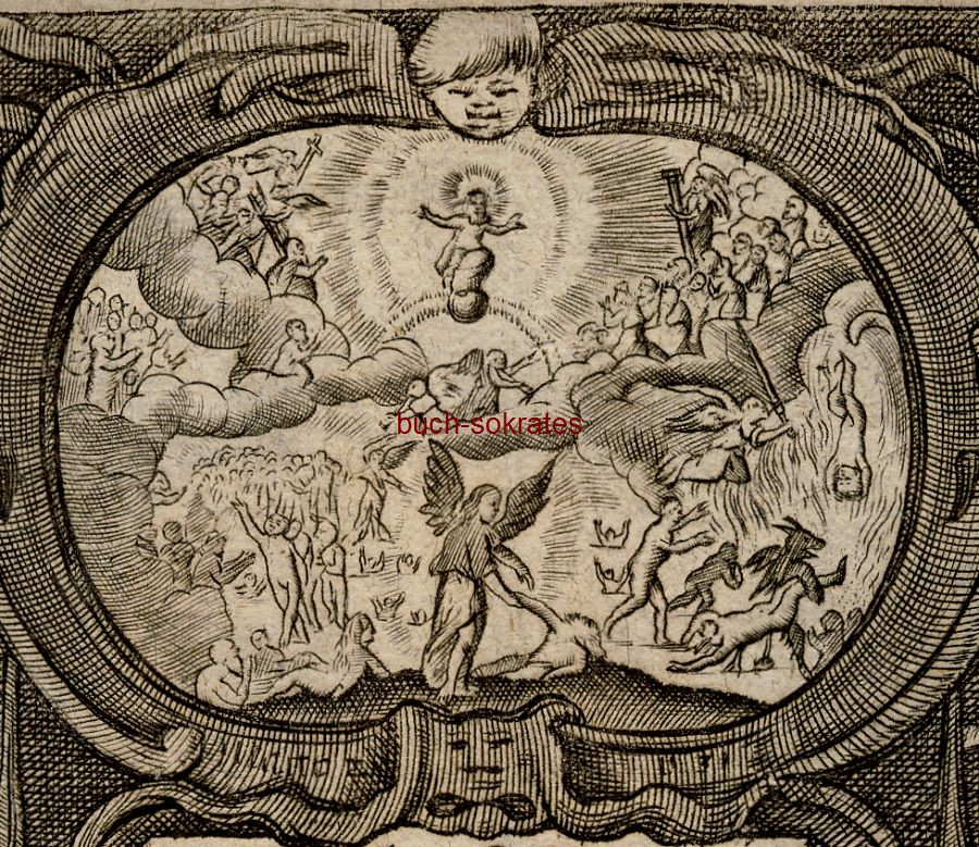 Graphik Peter Troschel: Das Newe Testamet (Neue Testament) Jesu Christi (ca. 1731)