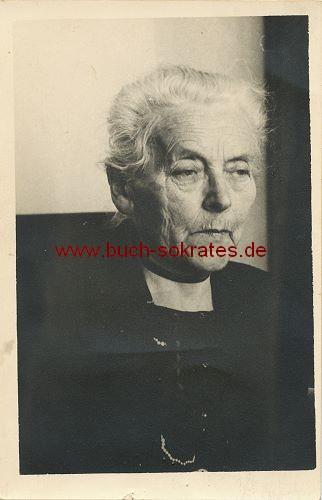 Foto-Postkarte alte Frau aus Holland (ca. 1920)