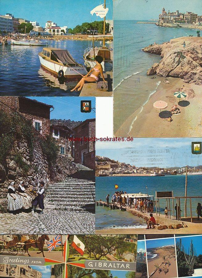 Ansichtskarte Ansichten Spanien: Mallorca, Katalonien, Kanarische Inseln, Ibiza, Gibraltar (ca. 1961-77)