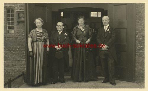 Foto 2 Paare aus Haarlem / Holland (ca. 1950)