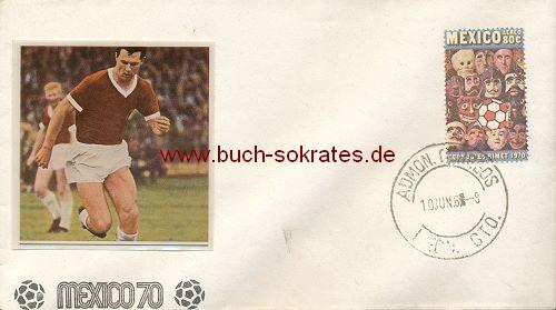 Briefumschlag WM 1970 Mexico / Mexiko