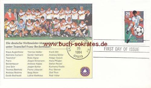 Briefumschlag World Cup USA 1994