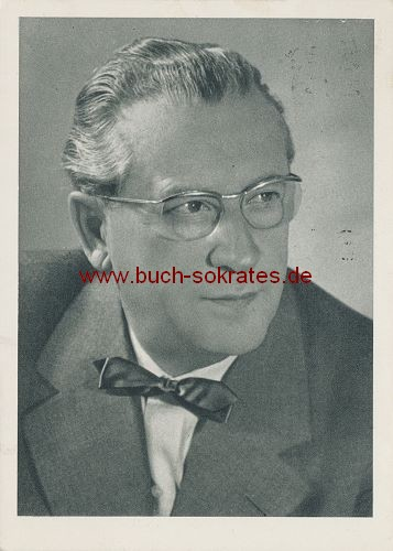 Postkarte Hanns Porst (Photo Porst)