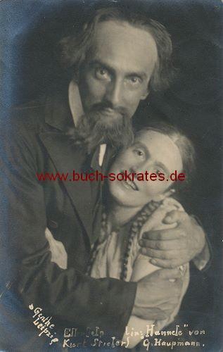 Foto Szenefoto Theater Leipzig - Hannele von Gerhart Hauptmann (1919)