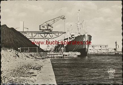 Ansichtskarte Ansicht Gotland. Slite Industriehamn / Industriehafen Slite