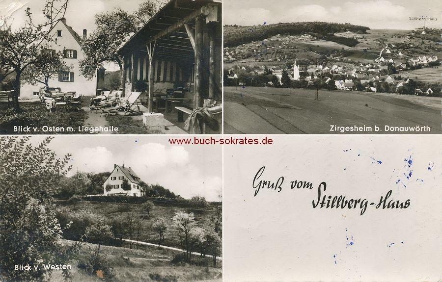 Ansichtskarte Stillberg-Haus Donauwörth (1964)