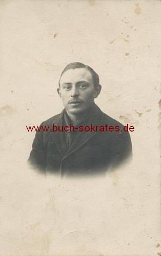 Foto-Postkarte Junger Mann aus Italien (ca. 1920)