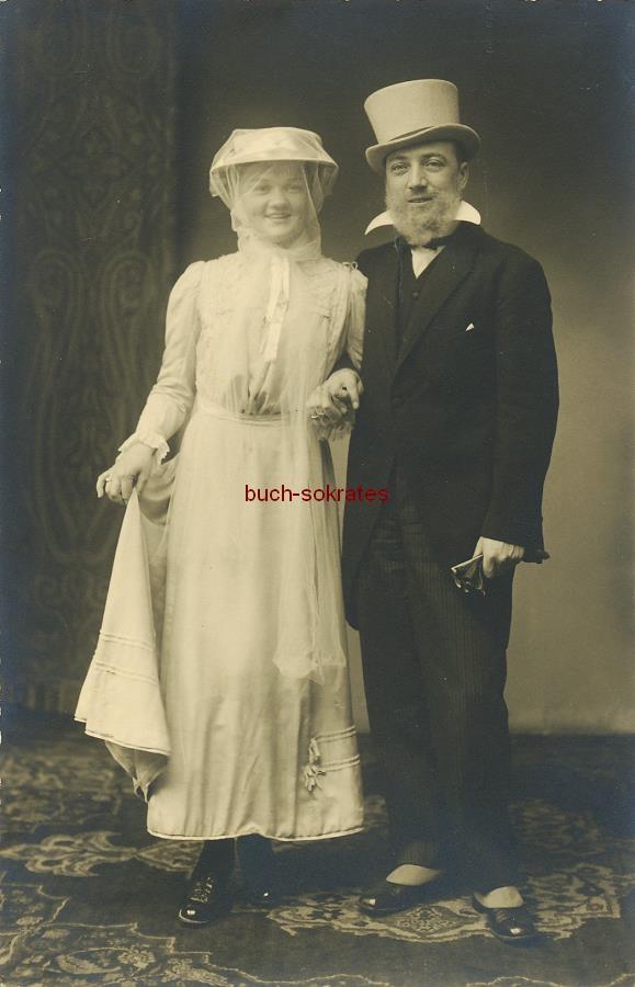 Foto Brautpaar aus Aachen (ca. 1920)