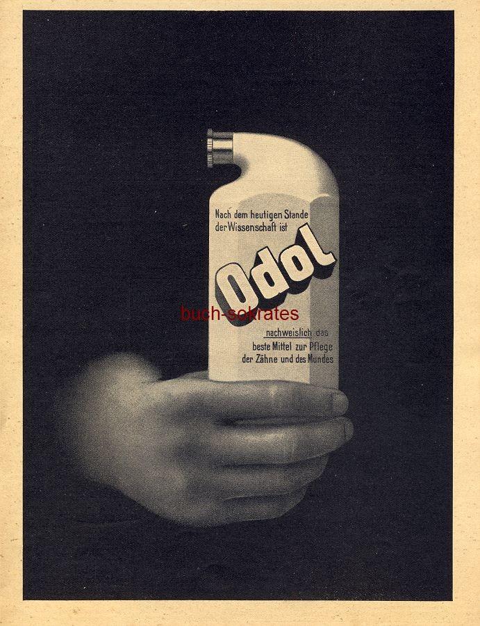 Werbe-Anzeige / Werbung/Reklame Odol Mundwasser (DW09/30)