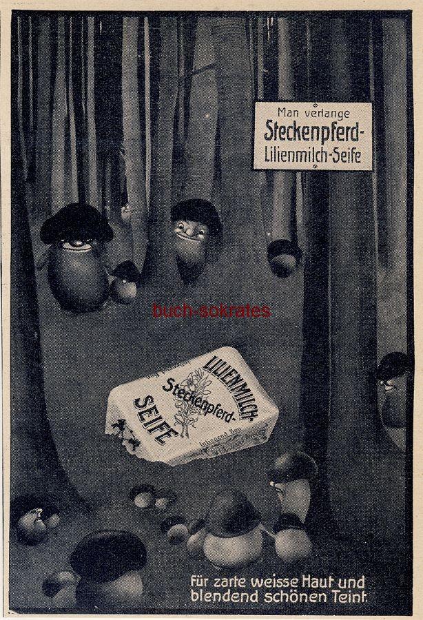 Werbe-Anzeige / Werbung/Reklame Steckenpferd Lilienmilch-Seife (DW11/14)