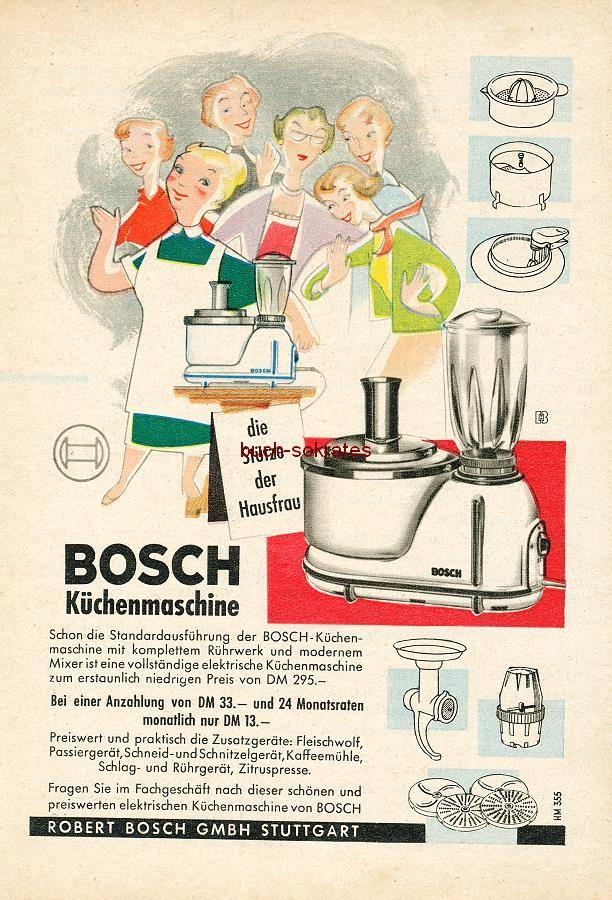 advertising display bundle 4 x food processor mixer bosch bauknecht 1953 58 ebay. Black Bedroom Furniture Sets. Home Design Ideas